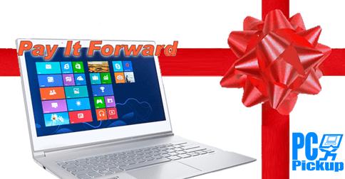 Pay It Forward Laptop
